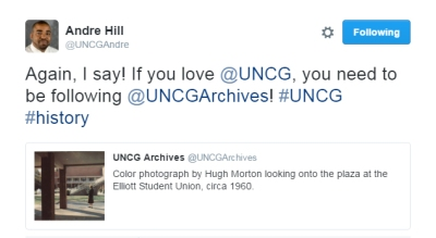 The Undergraduate Admissions directors are some of our biggest social media fans