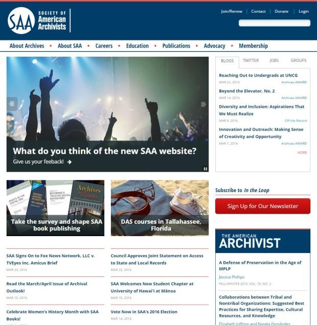 SAA_homepage