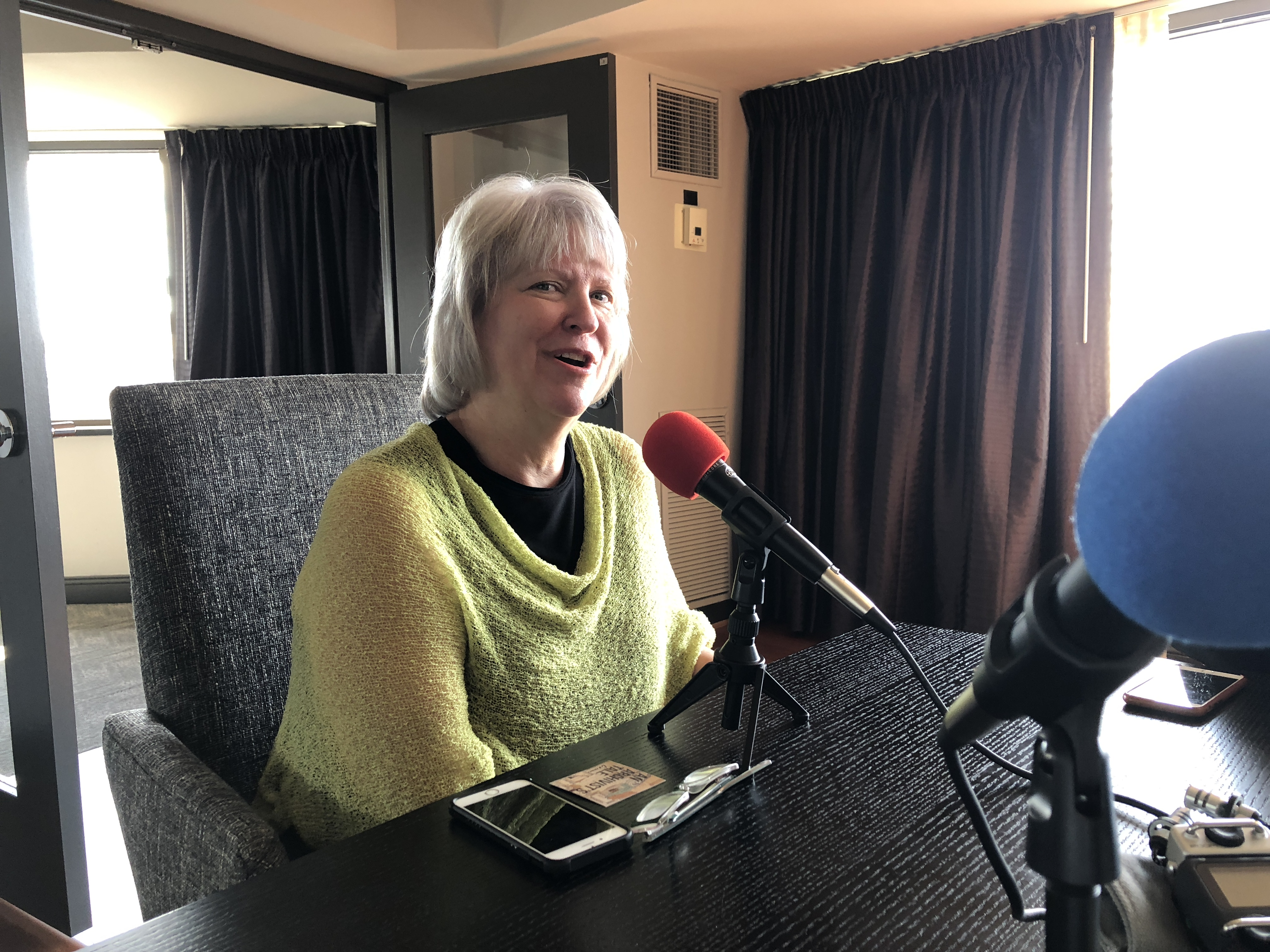 tanya zanish-belcher interviewe d by an archivist's tale (washington, dc, 2018-08-14)