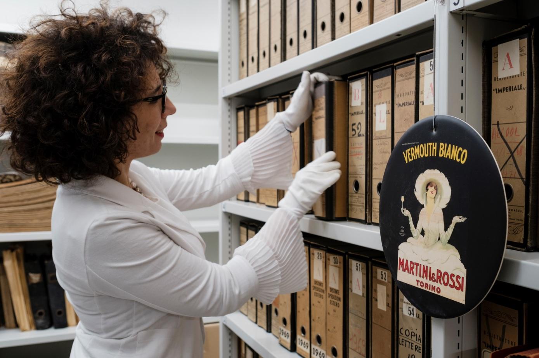 The new Martini Archive with Anna Scudellari our Archivist