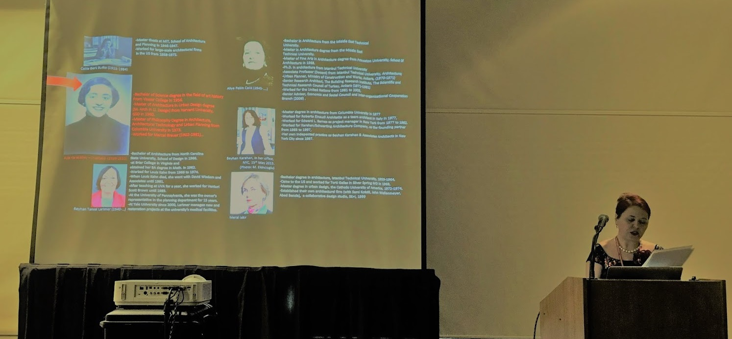 3. Dr. Meral Ekincioglu presentation at the 71st Society of Architecture Historians International Conference April 2018