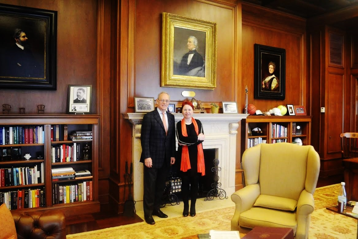 4. With Rafael Reif the MIT President
