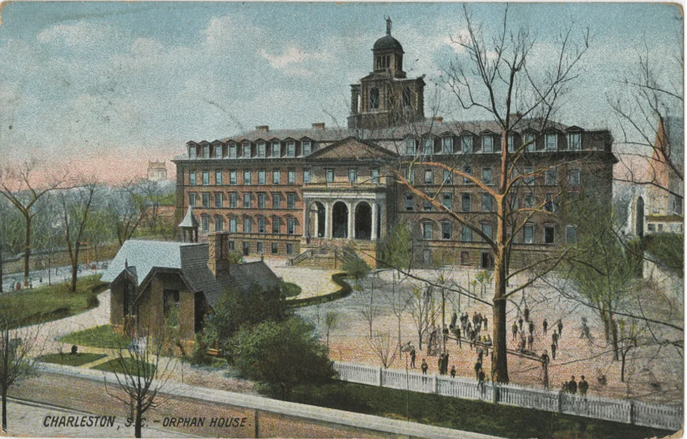 A picture of the Charleston, South Carolina Orphan House.